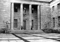 Albert Speer's New Reich Chancellery, completed in 1939