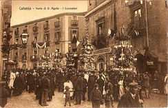 Festival of Saint Agatha in 1915