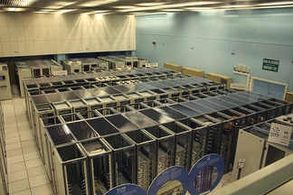 Data center at CERN (2010)