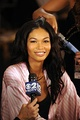 Chanel Iman is of African-American and Korean descent.