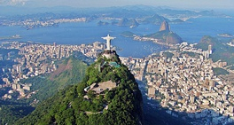 Rio de Janeiro, the most visited destination in Brazil by foreign tourists for leisure trips, and second place for business travel.