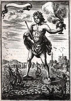 Предполагаемый внешний вид в атласе Малле[en] «Описание Вселенной» (1683)