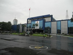 Camp Crame is the headquarters of the Philippine National Police
