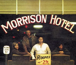 Photo by Henry Diltz used on the cover of Morrison Hotel