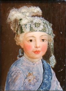 The duc de Berry as a young boy, artist unknown