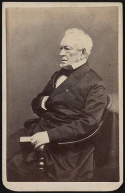 Photograph of Edward Everett by James Wallace Black. From the Liljenquist Family Collection of Civil War Photographs, Prints and Photographs Division, Library of Congress