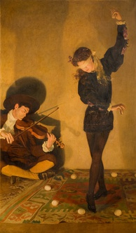 Egg-Dance by John Collier, The New Art Gallery  Walsall