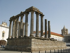Roman Temple of Évora