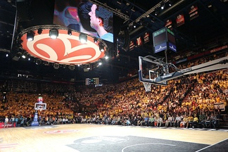 The setting of the 2014 EuroLeague Final Four, in Milan.
