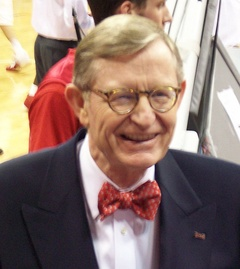 E. Gordon Gee, B.A. 1968, past president of universities including Ohio State, Vanderbilt, Brown and University of Colorado