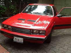 1982 Ford Mustang coupé, Mexican market version