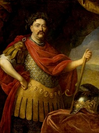 King John III Sobieski defeated the Ottoman Turks at the Battle of Vienna on 12 September 1683.