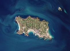 Satellite view of Jersey