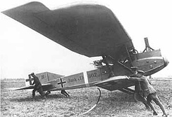 The Junkers J.I, a First World War German ground-attack aircraft