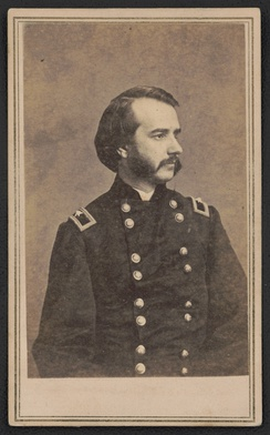 Major General John Franklin Miller of 29th Indiana Infantry Regiment. From the Liljenquist Family Collection of Civil War Photographs, Prints and Photographs Division, Library of Congress