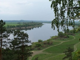 The Nemunas (Nieman) River between Lithuania and Russia's Kaliningrad Oblast.