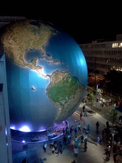 The SECU Daily Planet, part of the North Carolina Museum of Natural Sciences Nature Research Center