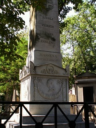 Tomb of Massena at the Père Lachaise Cemetery