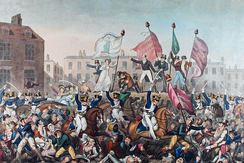 The Peterloo massacre of 1819 resulted in 15 deaths and several hundred injured