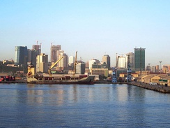 Luanda is experiencing widespread urban renewal and redevelopment in the 21st century, backed largely by profits from oil & diamond industries.