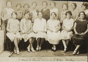 First women electors of Brazil, Rio Grande do Norte, 1928.