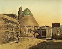 Второе здание Джума-мечети с коническим куполом. Рисунок XIX века