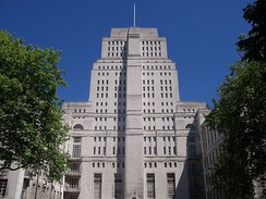 Senate House, the Ministry of Information headquarters in London during World War II