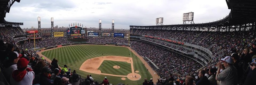 The White Sox taking on the Minnesota Twins on Opening Day 2014