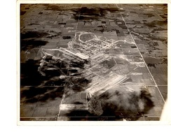 United States Naval Reserve Aviation Base, Peru, looking north from 6,500 ft (2,000 m) 24 August 1942