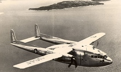Fairchild C-119 of the Air Force Reserve