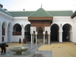 The University of al-Qarawiyyin (Université Al Quaraouiyine) in the Moroccan city of Fes was founded as a madrasa-mosque complex by a Muslim woman – Fatima al-Fihri, the educated daughter of a wealthy merchant – in 859. According to UNESCO, it is the oldest university in the world which is still operational.[39] It was incorporated into Morocco's modern state university system in 1963.