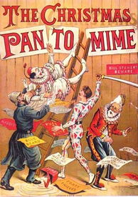 The Christmas Pantomime 1890. Pantomime plays a prominent role in British culture during the Christmas and New Year season.[78]