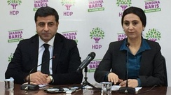 Opposition politicians Selahattin Demirtas and Figen Yüksekdağ were arrested on terrorism charges in 2016.