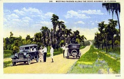 The Dixie Highway is a historic route passing through the heart of Central Florida. Before the interstate system it connected motorists traveling between towns like Orlando, Arcadia and Bartow.
