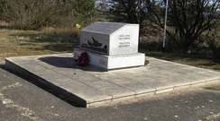 Carpetbaggers Memorial at RAF Harrington