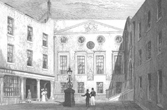 Apothecaries Hall in Blackfriars, 1831