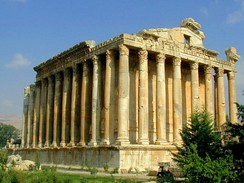 Temple of Bacchus is considered one of the best preserved Roman temples in the world, c. 150 AD