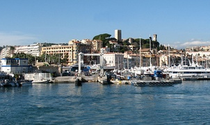 Le Suquet, the old quarter of Cannes