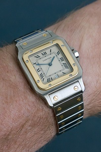 Cartier Santos - steel/gold from 1988