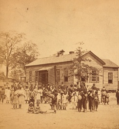 "A ""Colored School"" in South Carolina, ca.1878"