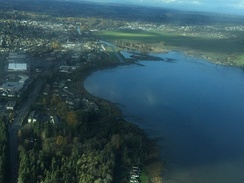 Courtenay, 31 October 2015, seen from a Cessna