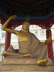Dignaga founded a school of Buddhist epistemology and logic.