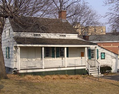 Cottage in Fordham (now the Bronx) where Poe spent his last years