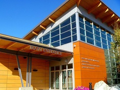Fairbanks Visitor Center in Fairbanks, Alaska