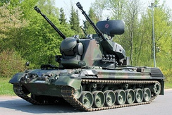 A Gepard SPAAG of the German Army