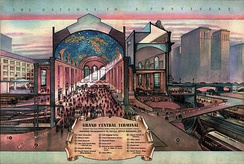 """Grand Central Terminal"" from ""The Gateway to a Continent: Grand Central Zone"" (1939)"