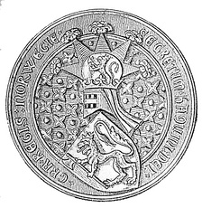 The Great Seal of King Hákon V