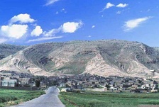 The Assyrian town of Alqosh where a massacre was planned on its population.