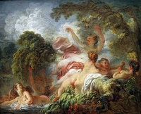 The Bathers, circa 1765, Louvre Museum, Paris
