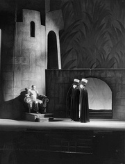 Macbeth (Jack Carter, left) with the Murderers in Macbeth (1936)